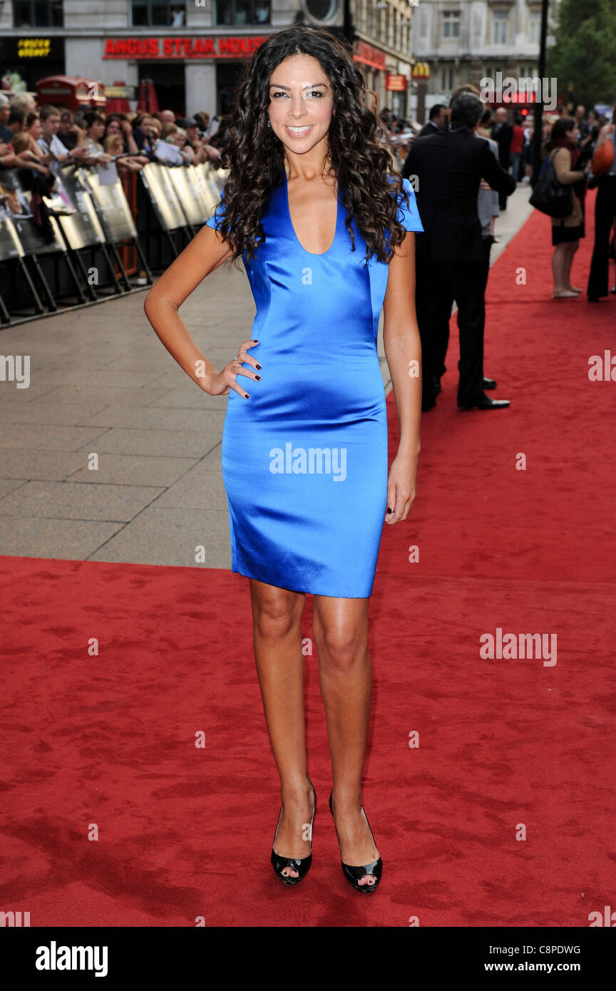 Terri Seymour attends the UK Premiere of 'Public Enemies' at Leicester Square, London, 29th June 2009. - Stock Image