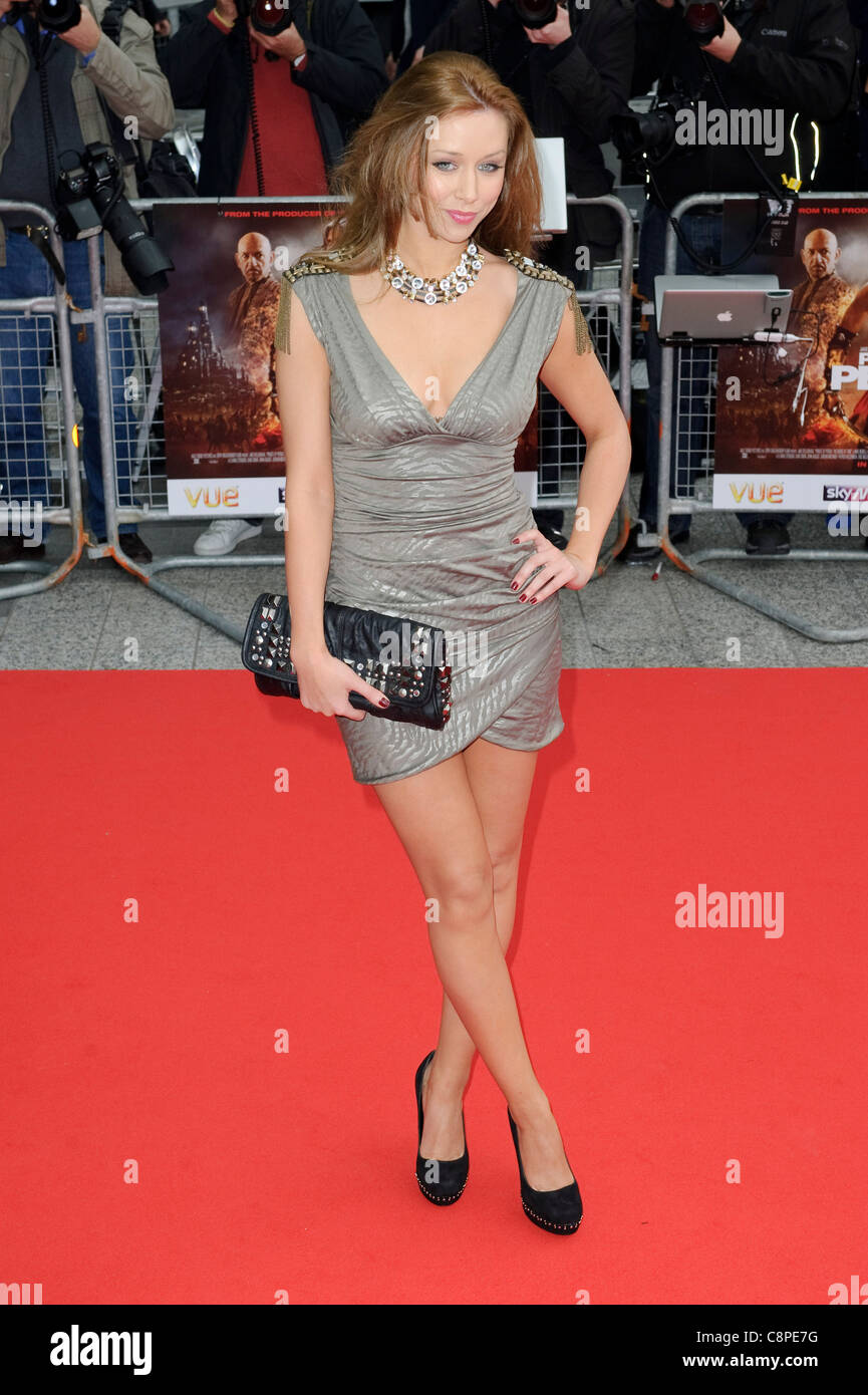 Una Healy at the World Premiere of 'Prince of Persia; Sands of Time' at VUE, Westfield Shopping Centre, - Stock Image