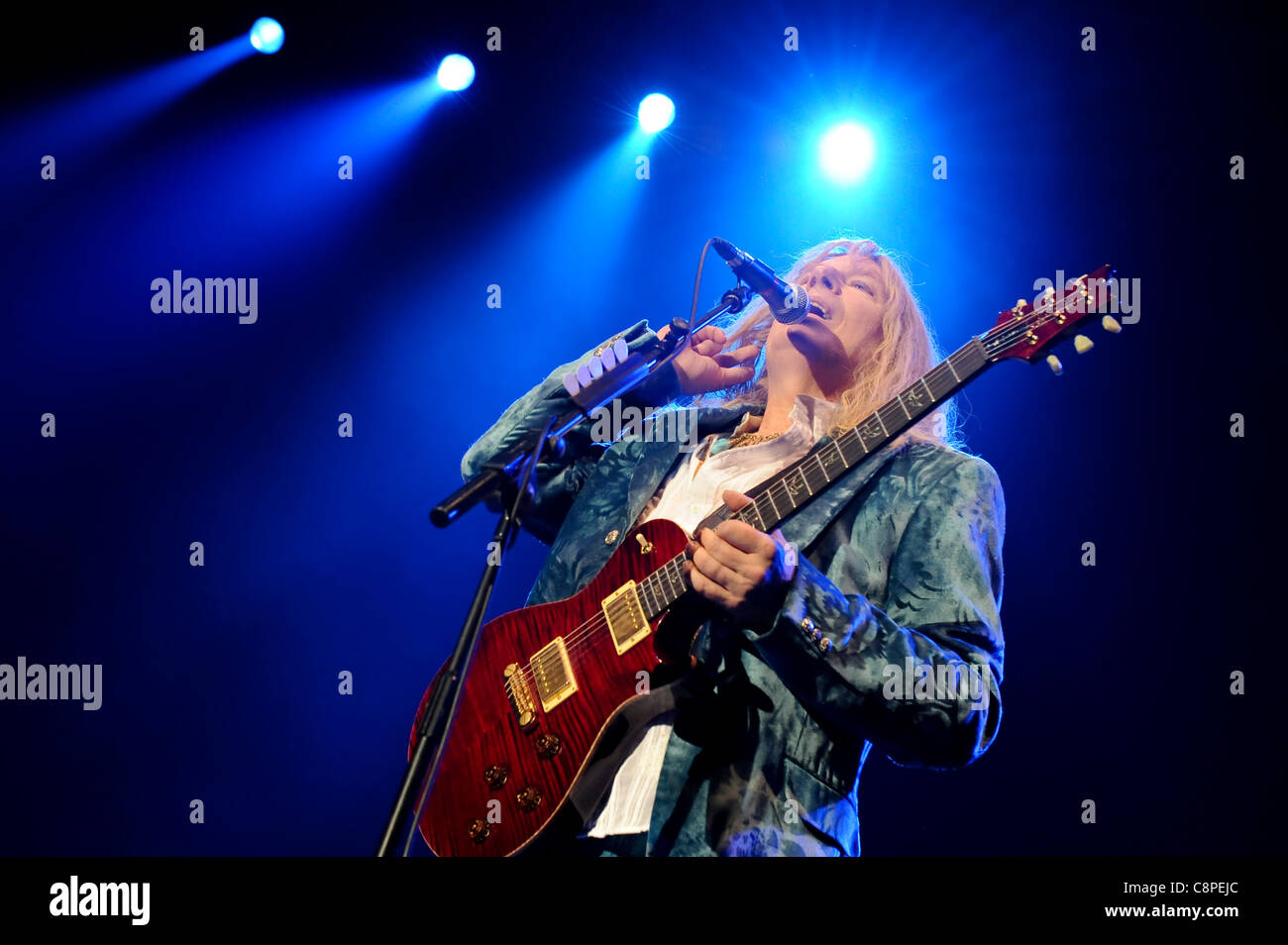 Spinal Tap play their 'One Night Only World Tour', at Wembley Arena, London, 30th June 2009. - Stock Image