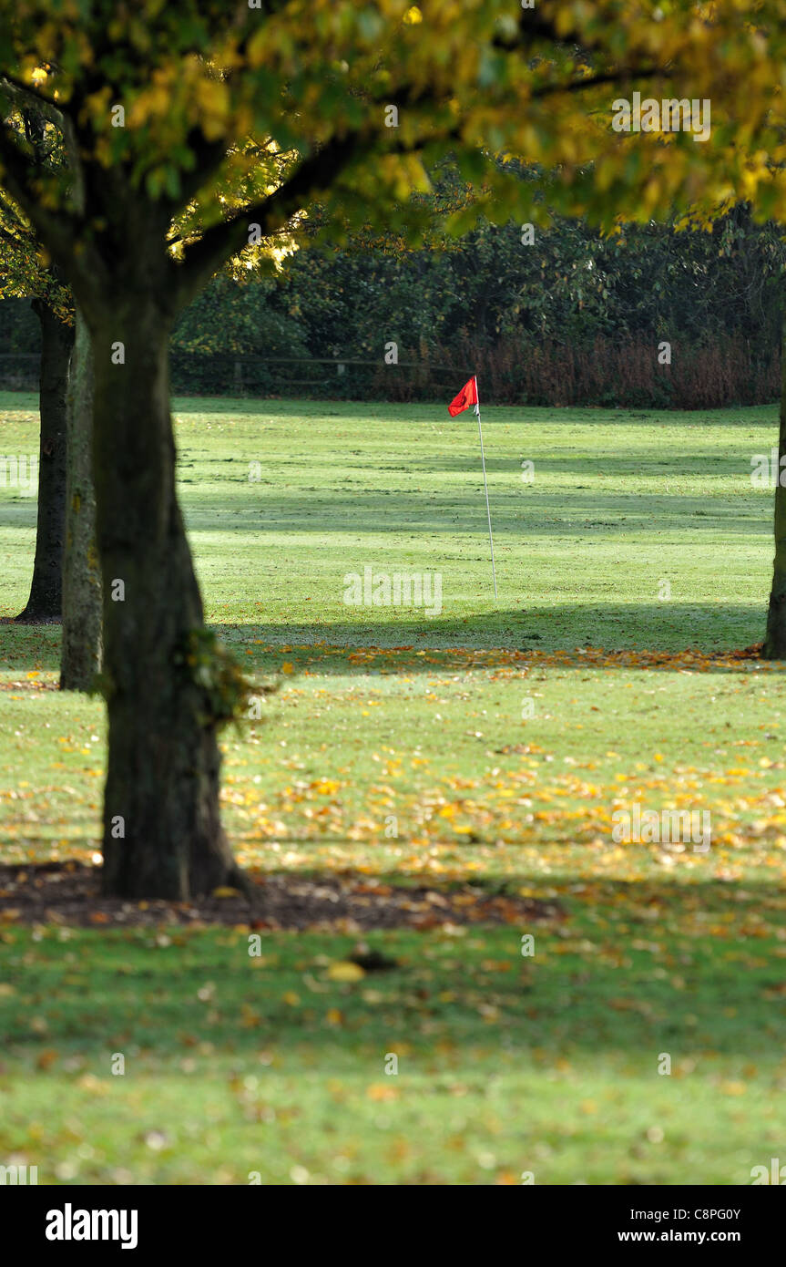 golf pitch and putt park - Stock Image