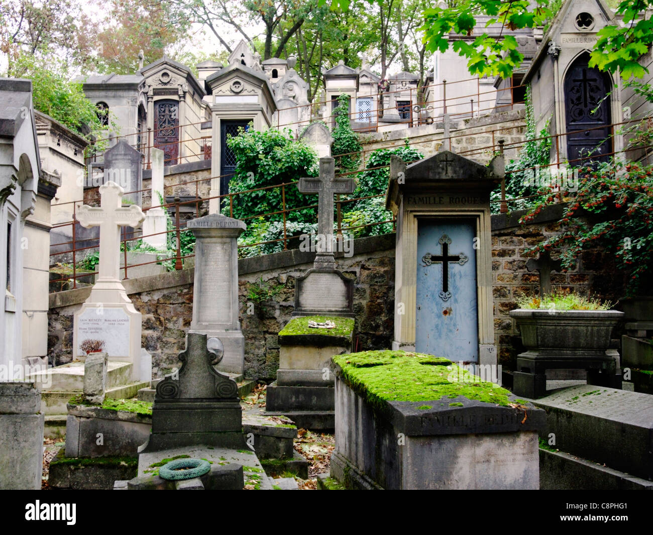 Pere Lachaise, Paris Stock Photo