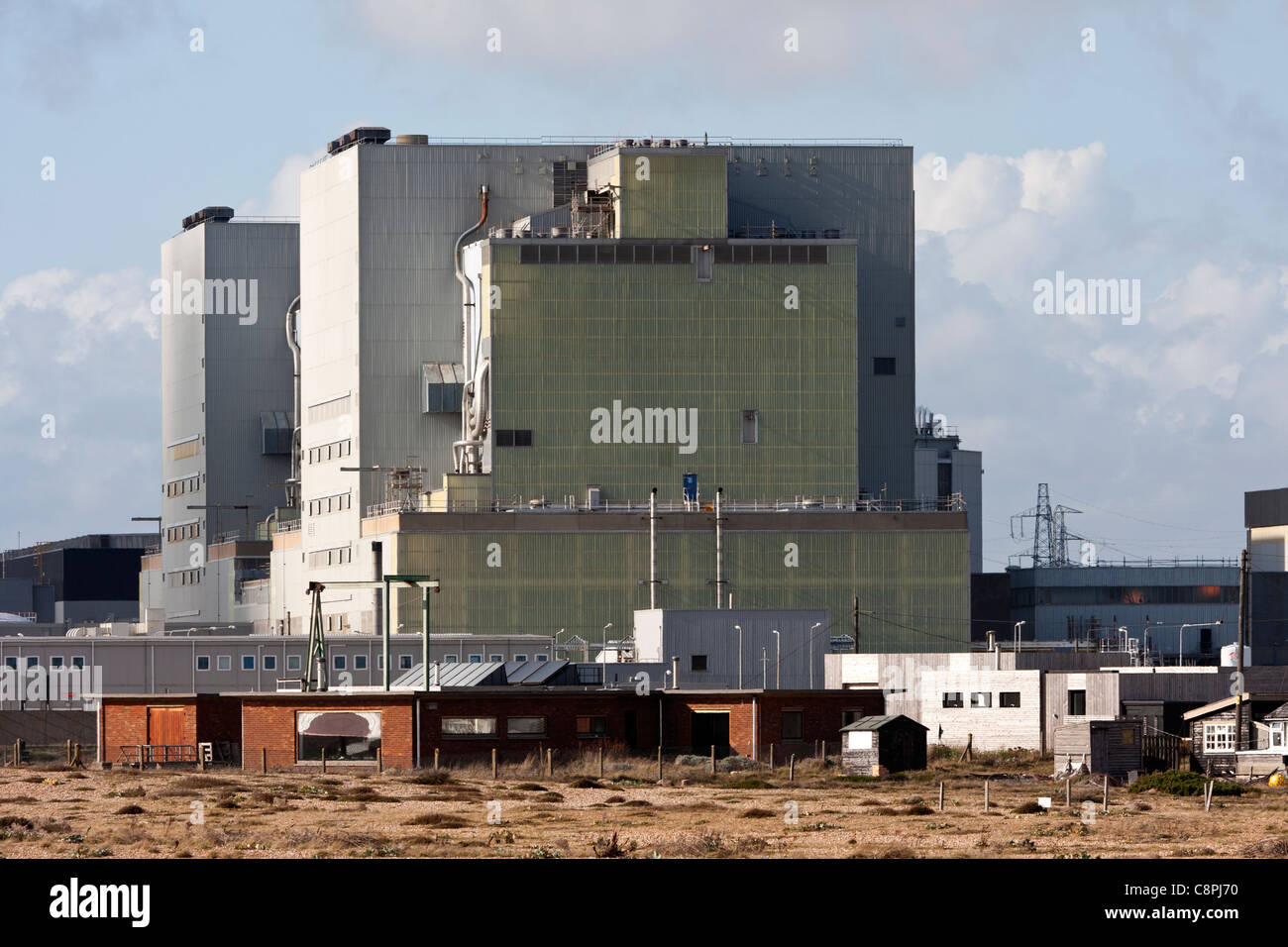 Dungeness nuclear power station UK - Stock Image