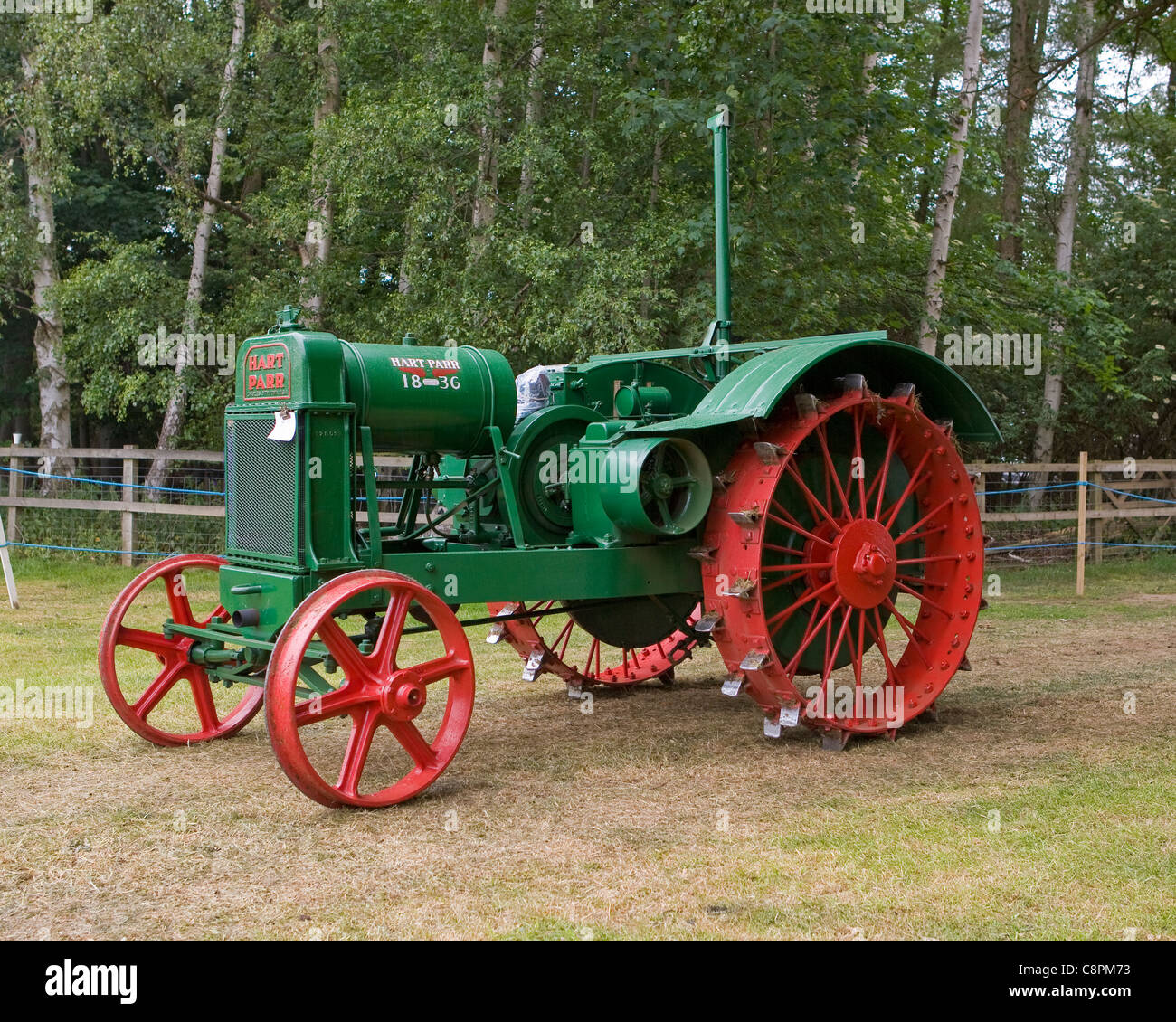 Hart-Parr Model 18-36 Tractor - Stock Image