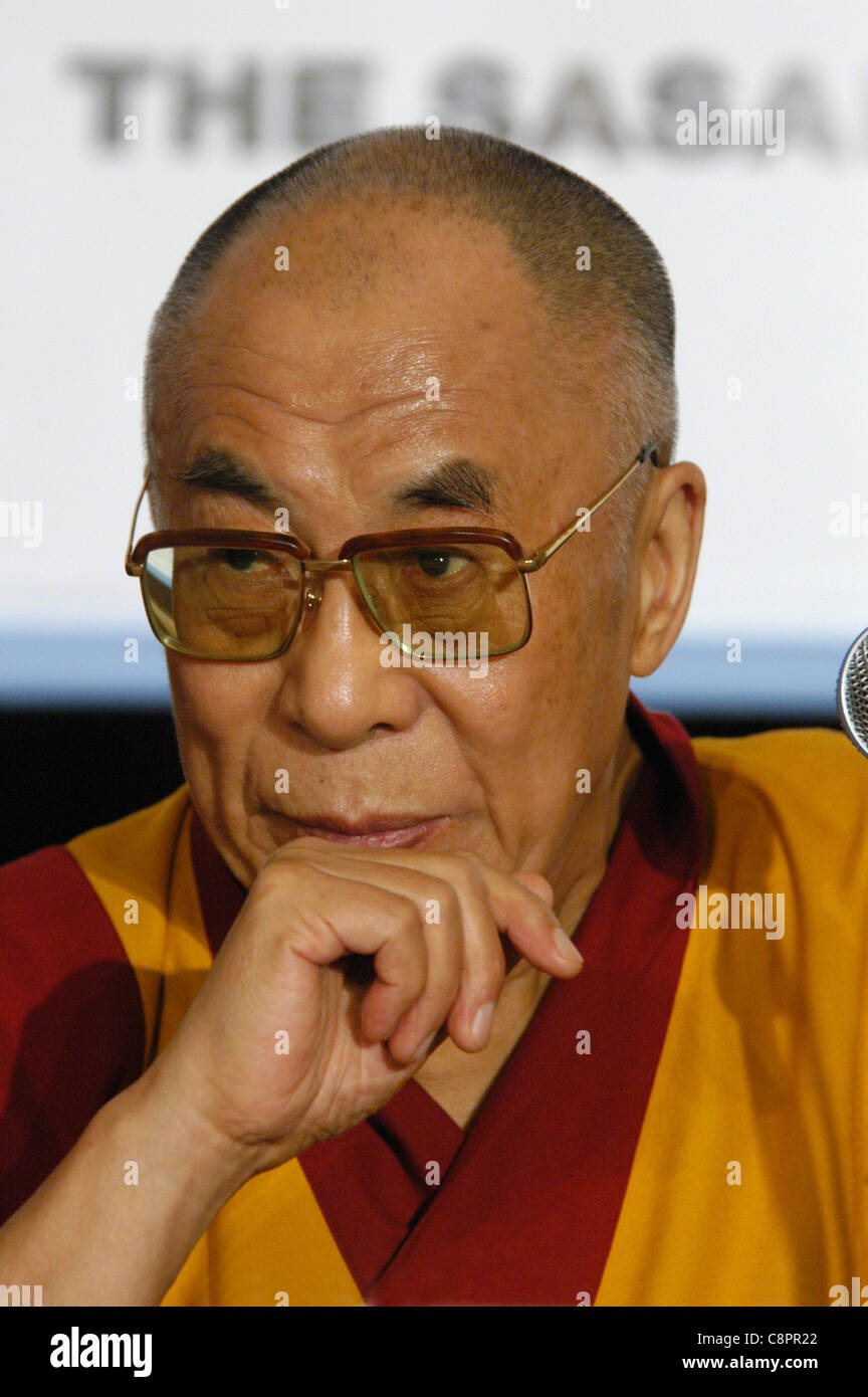 Spiritual leader of the Tibetan Buddhism 14th Dalai Lama