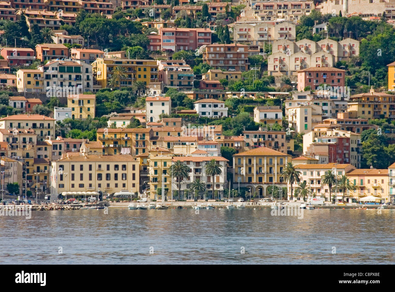 Italy, Tuscany, Monte Argentario, Porto Santo Stefano - Stock Image