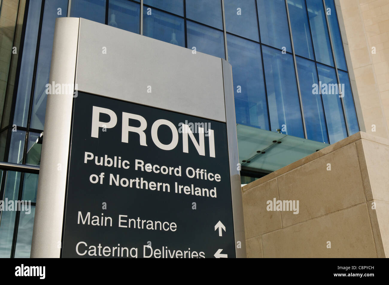 Public Records Office for Northern Ireland (PRONI) - Stock Image