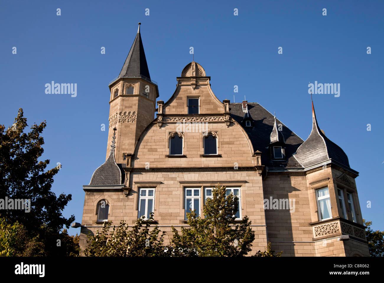 luxury villa in Bonn, North Rhine-Westphalia, Germany, - Stock Image