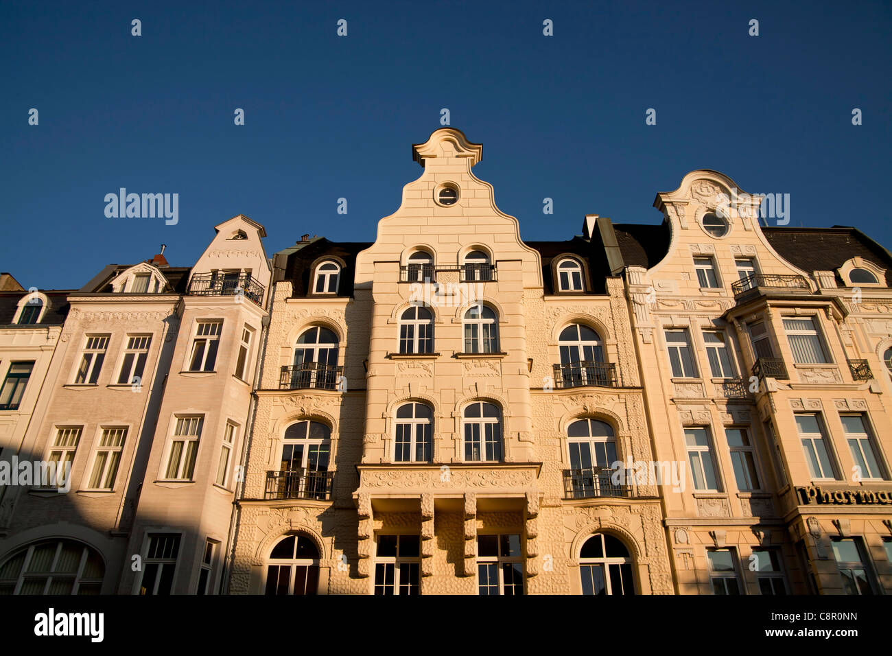 buildings in the centre of Bonn, North Rhine-Westphalia, Germany, - Stock Image