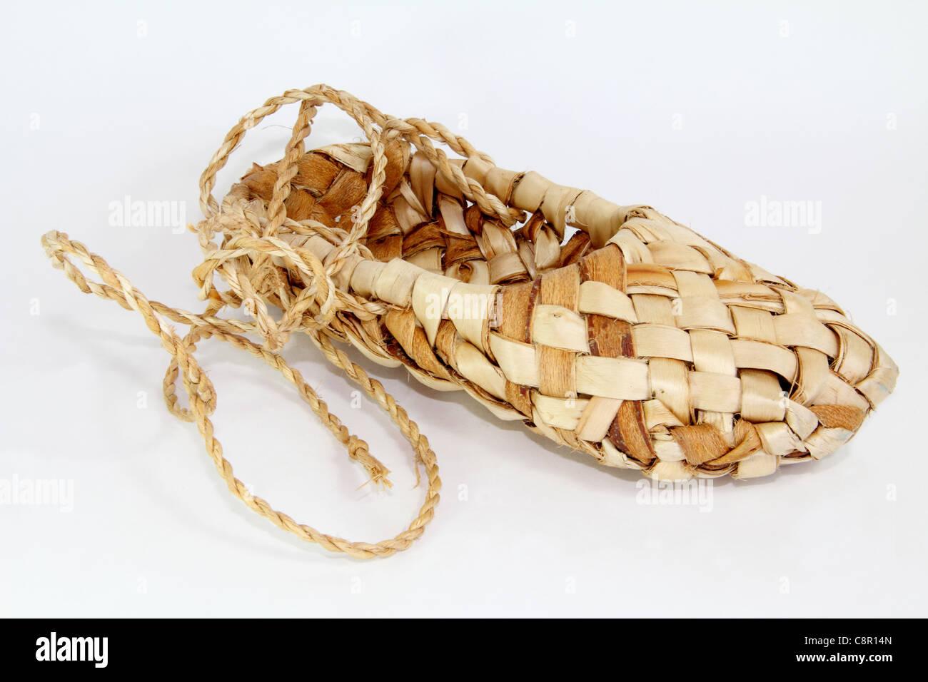 Bast shoe - Stock Image