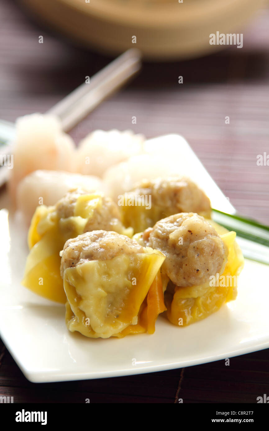 Chinese food, Dimsum Stock Photo