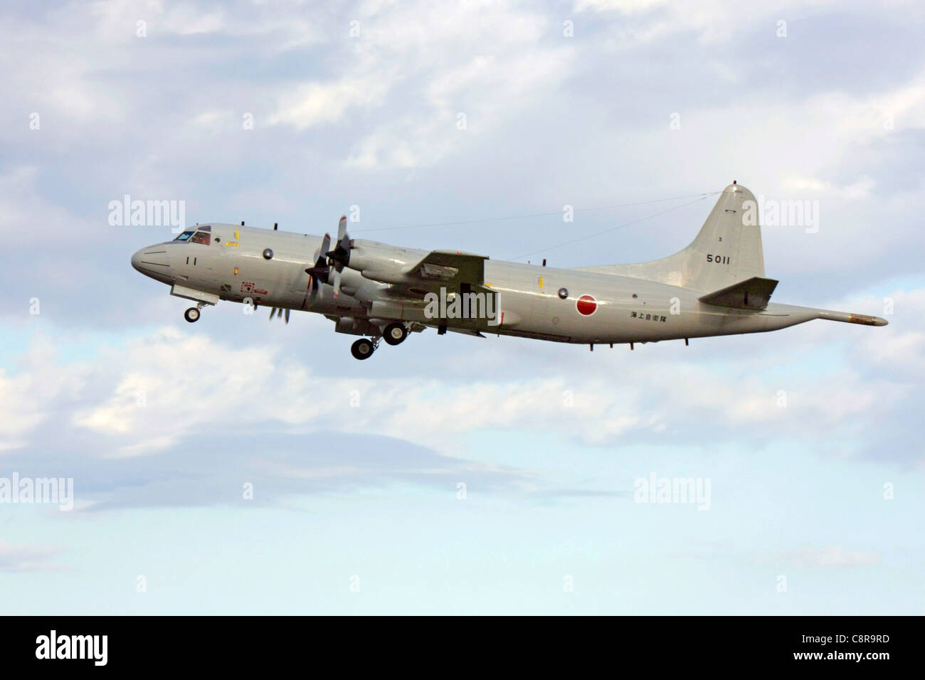 Lockheed P-3C Orion of Japan Maritime Self Defense Fleet Air Force Stock Photo