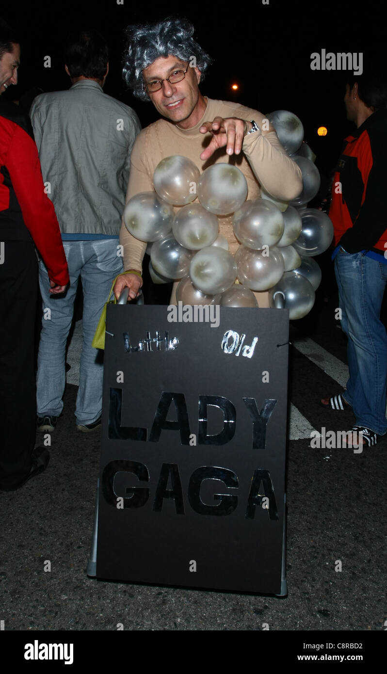 LITTLE OLD LADY GAGA COSTUME 2011 WEST HOLLYWOOD COSTUME