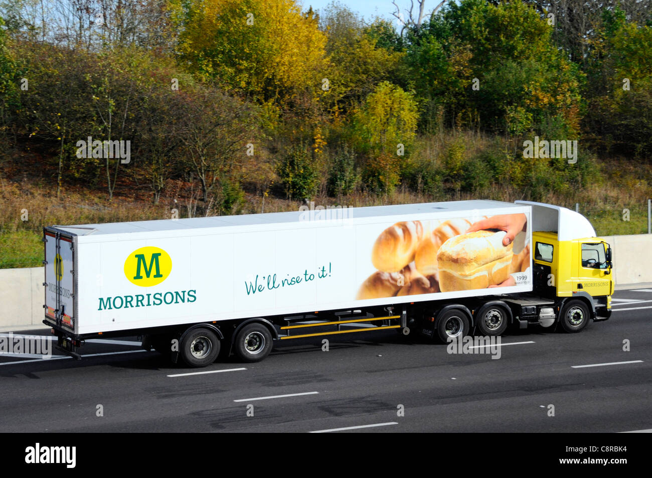 Morrisons delivery stock photos morrisons delivery stock for Morrison supply