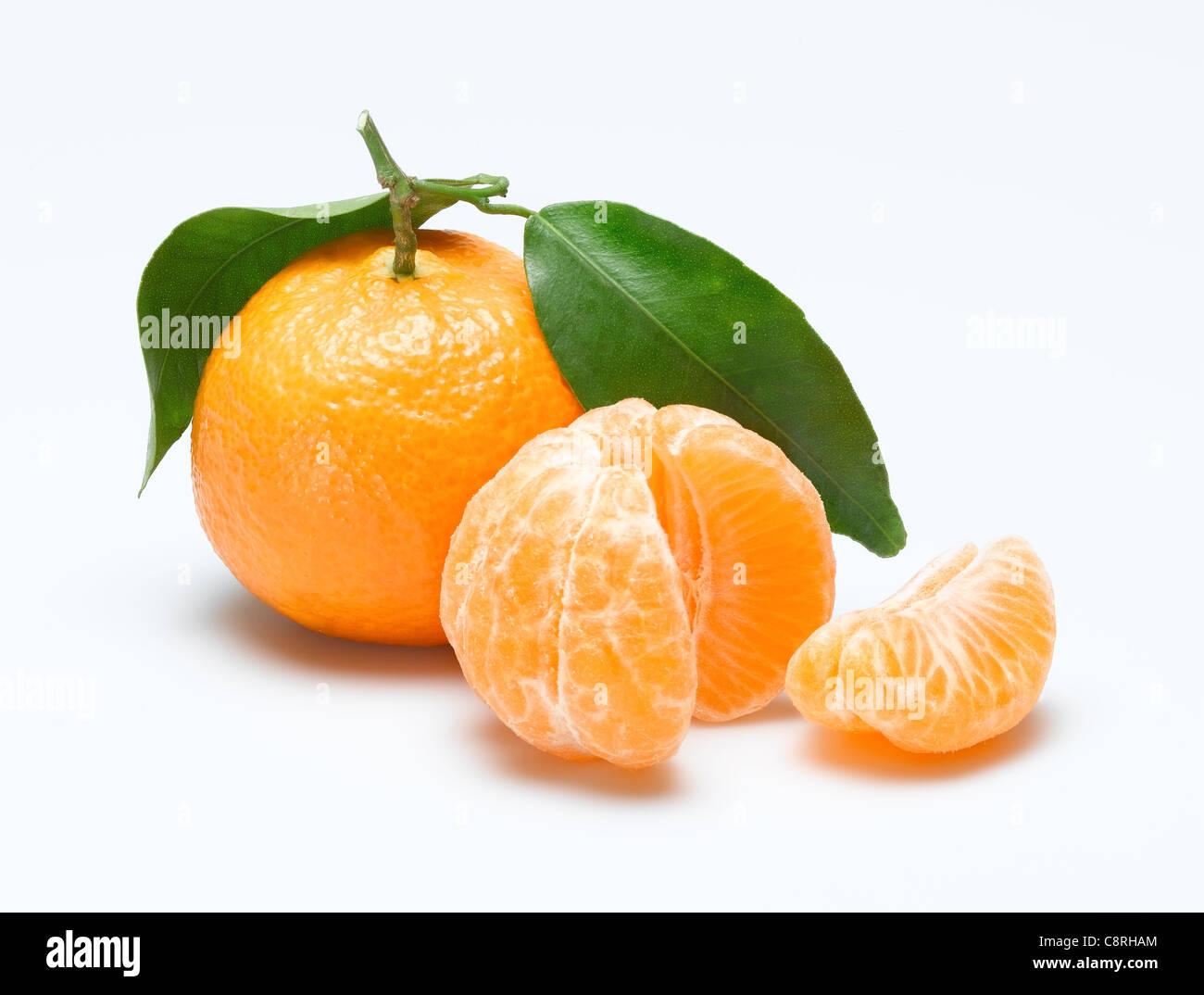Mandarin orange - Stock Image