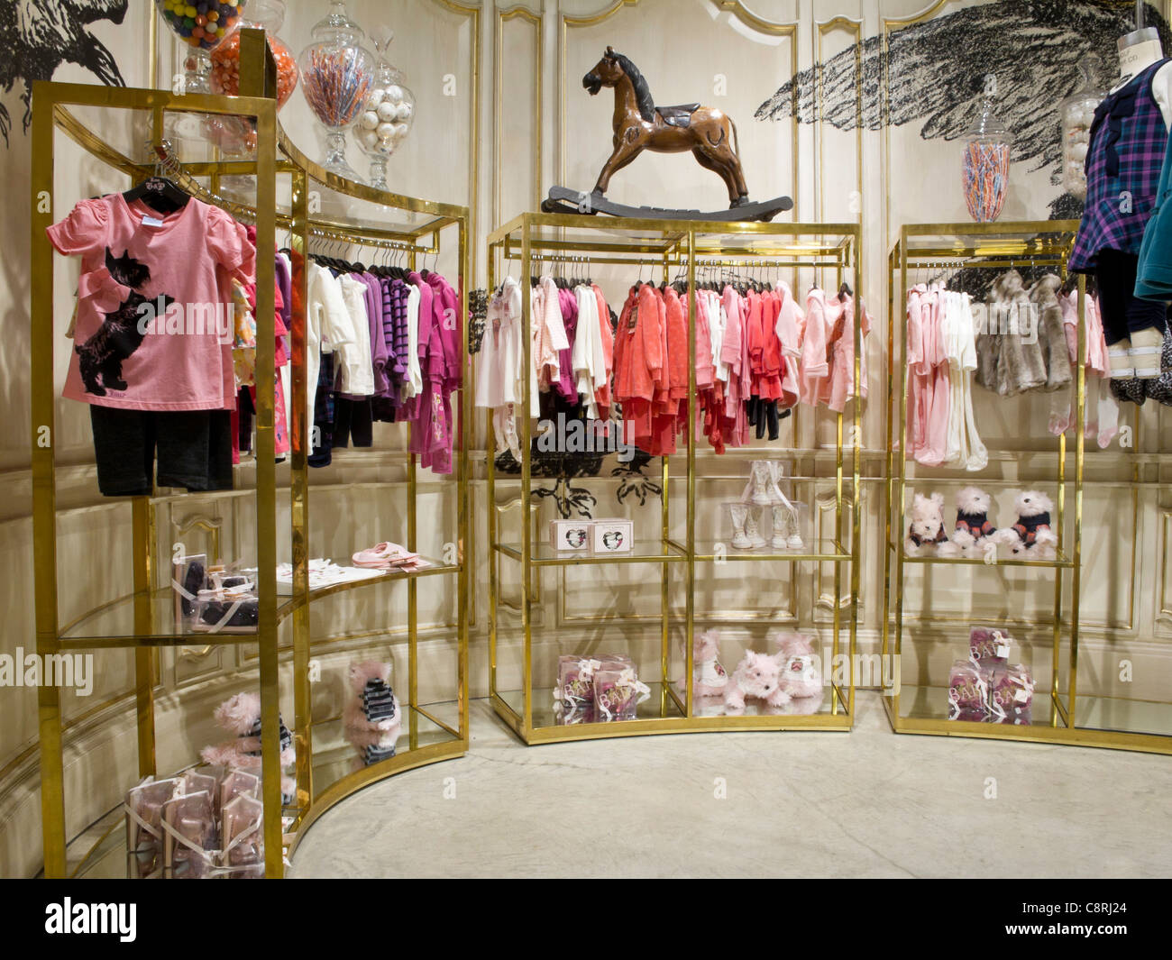 Juicy Couture, Children's Wear,  Fifth Avenue, NYC - Stock Image