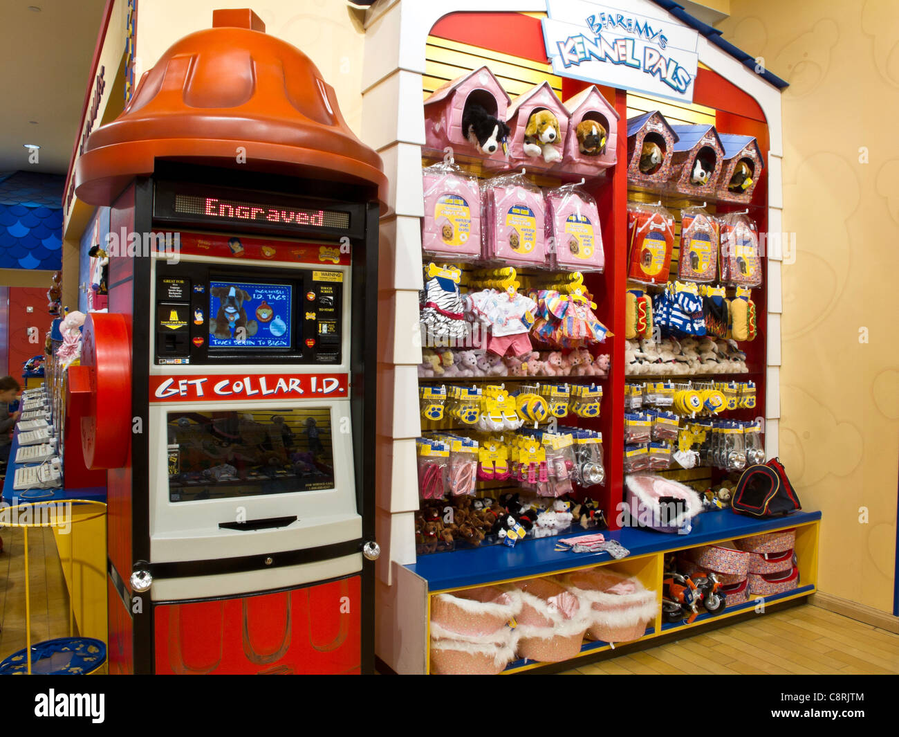 build a bear workshop interior fifth avenue nyc stock photo