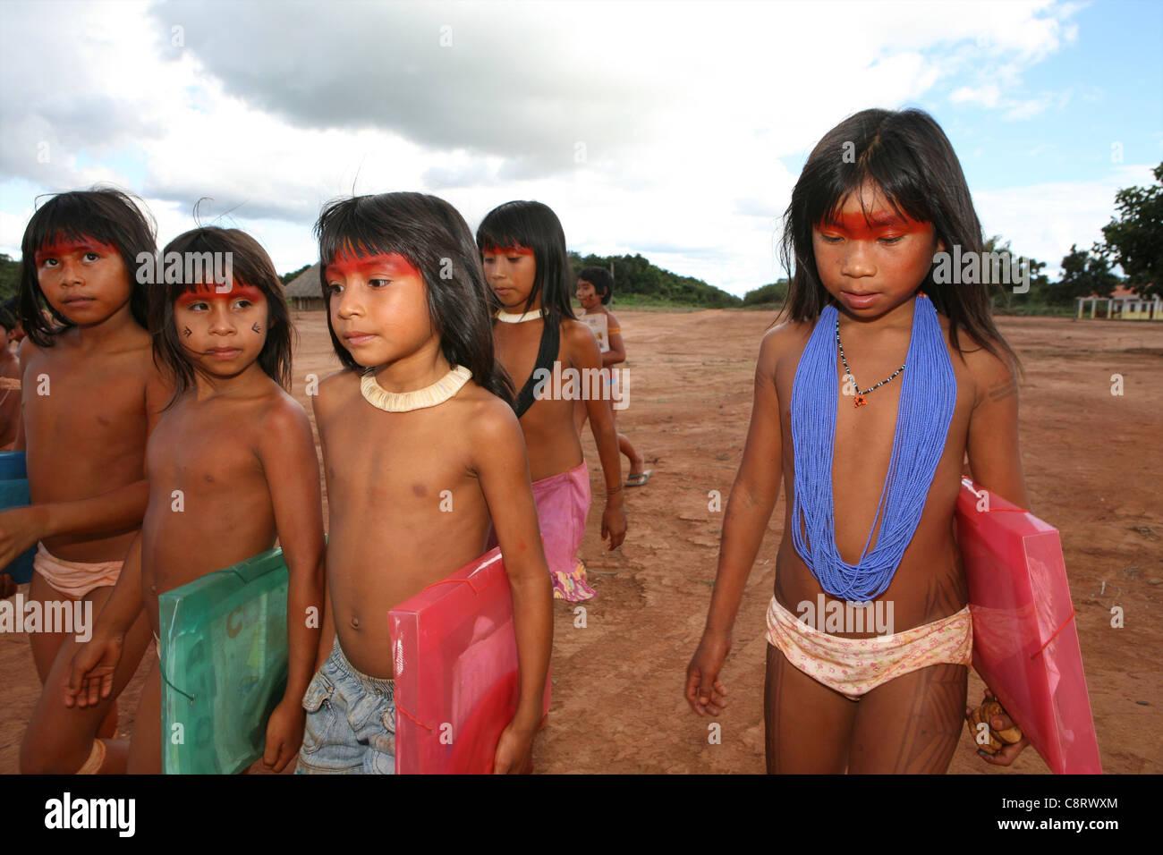 Xingu women