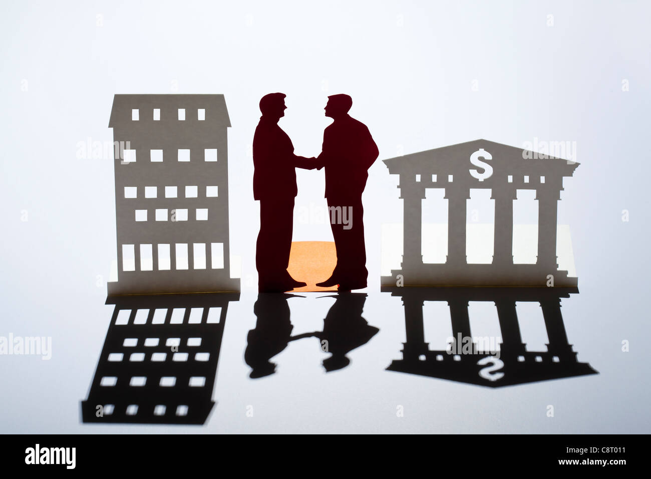 Concept of agreement and success - Stock Image