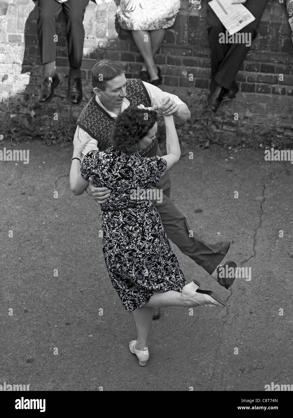 5c94aa04e40c Swing Dance 1940's Stock Photo: 39870453 - Alamy