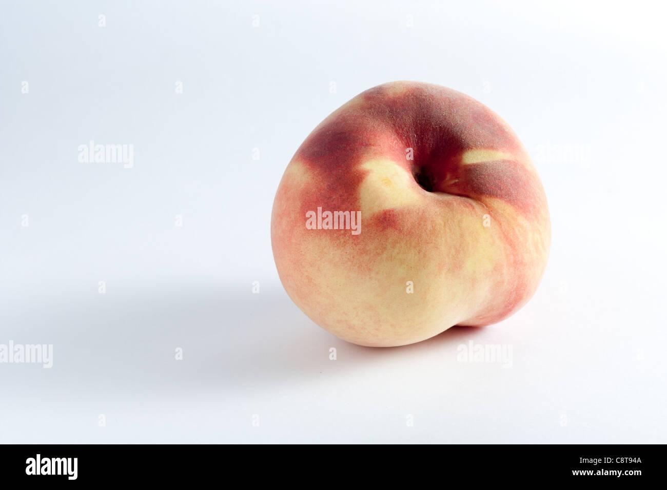 White Peach - Stock Image