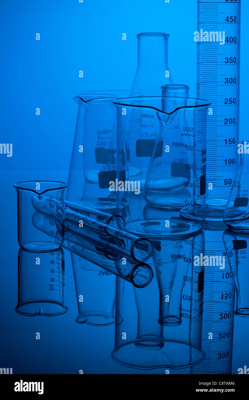Laboratory Equipments - Stock Image