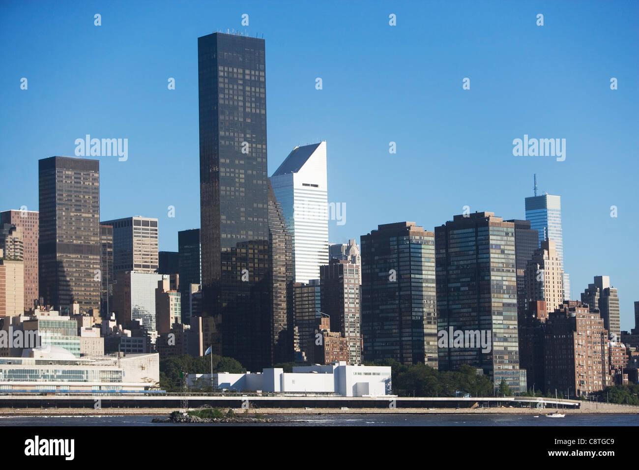 USA, New York State, New York City, Manhattan, Trump Worldwide Plaza - Stock Image