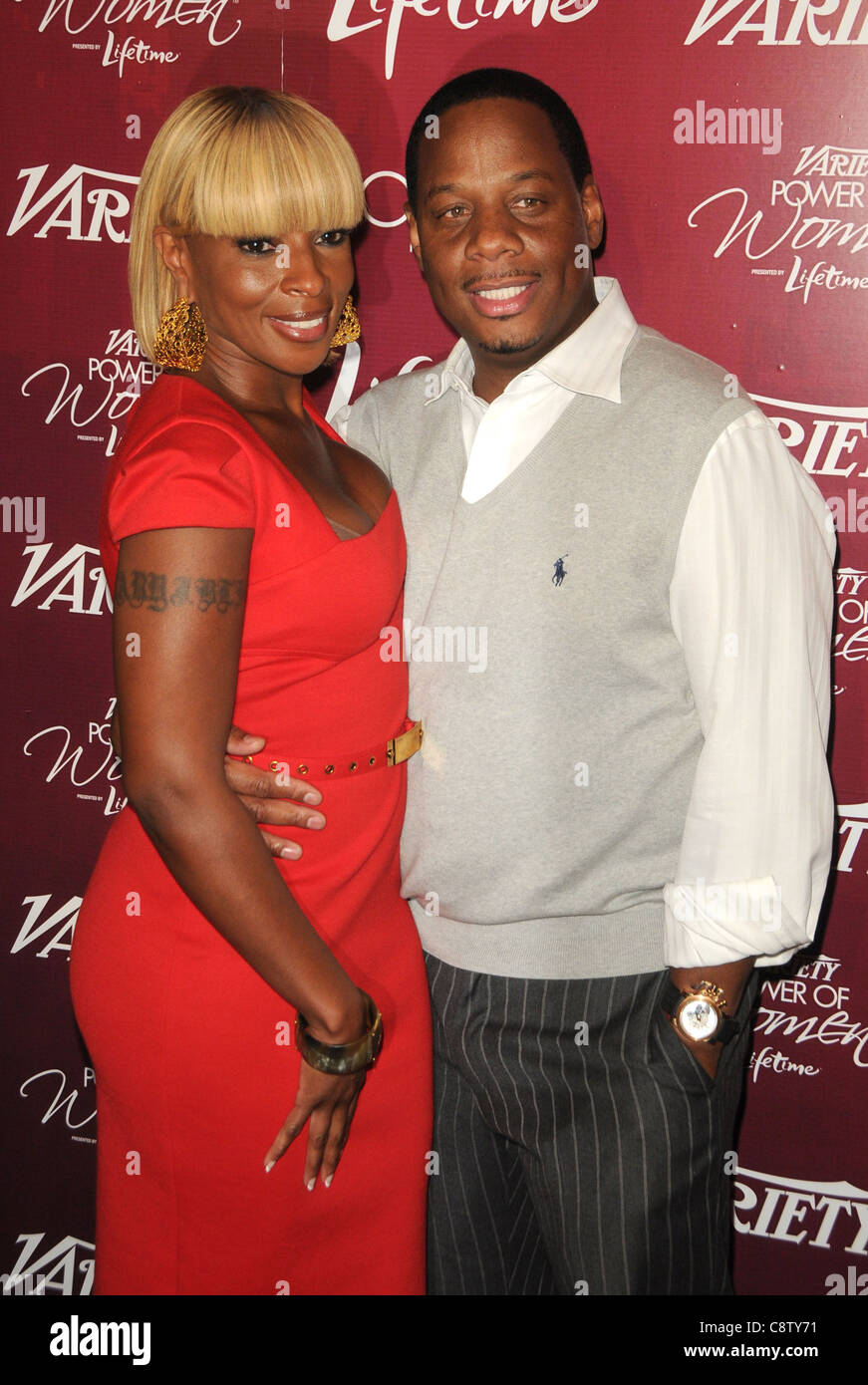 Mary J. Blige at arrivals for Variety's 3rd Annual Power of Women Luncheon, Beverly Wilshire Four Seasons Hotel, - Stock Image