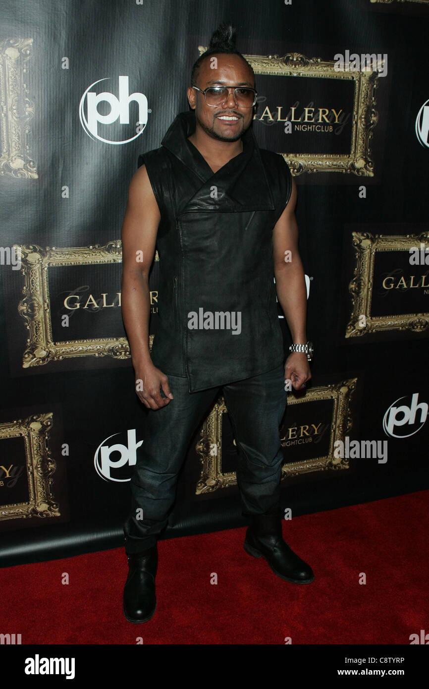 apl de ap at arrivals for apl de ap of Black Eyed Peas DJs at Gallery Nightclub, Planet Hollywood Resort & Casino, - Stock Image