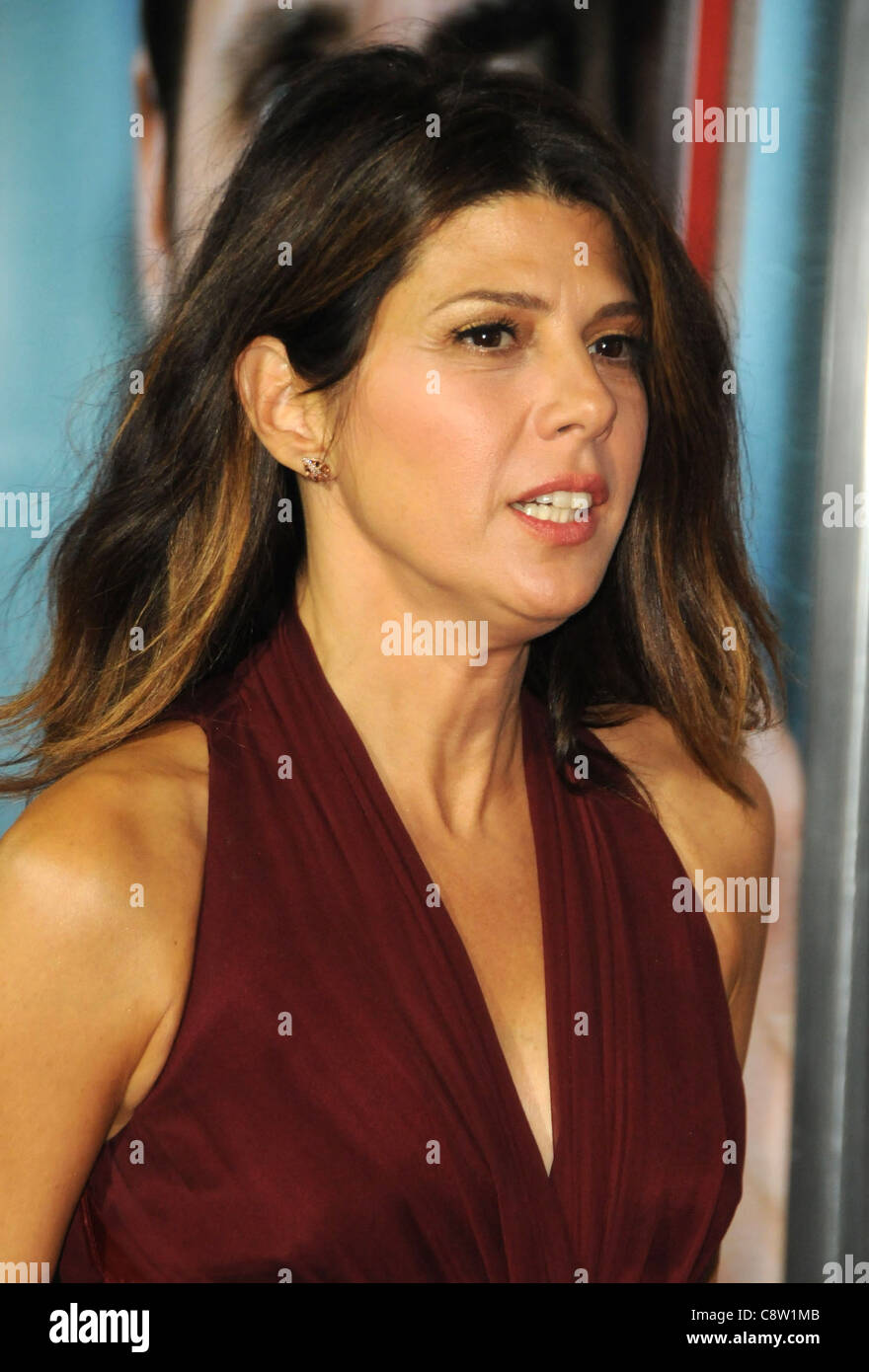 Marisa Tomei at arrivals for THE IDES OF MARCH Screening, Samuel Goldwyn Theater at AMPAS, Los Angeles, CA September - Stock Image