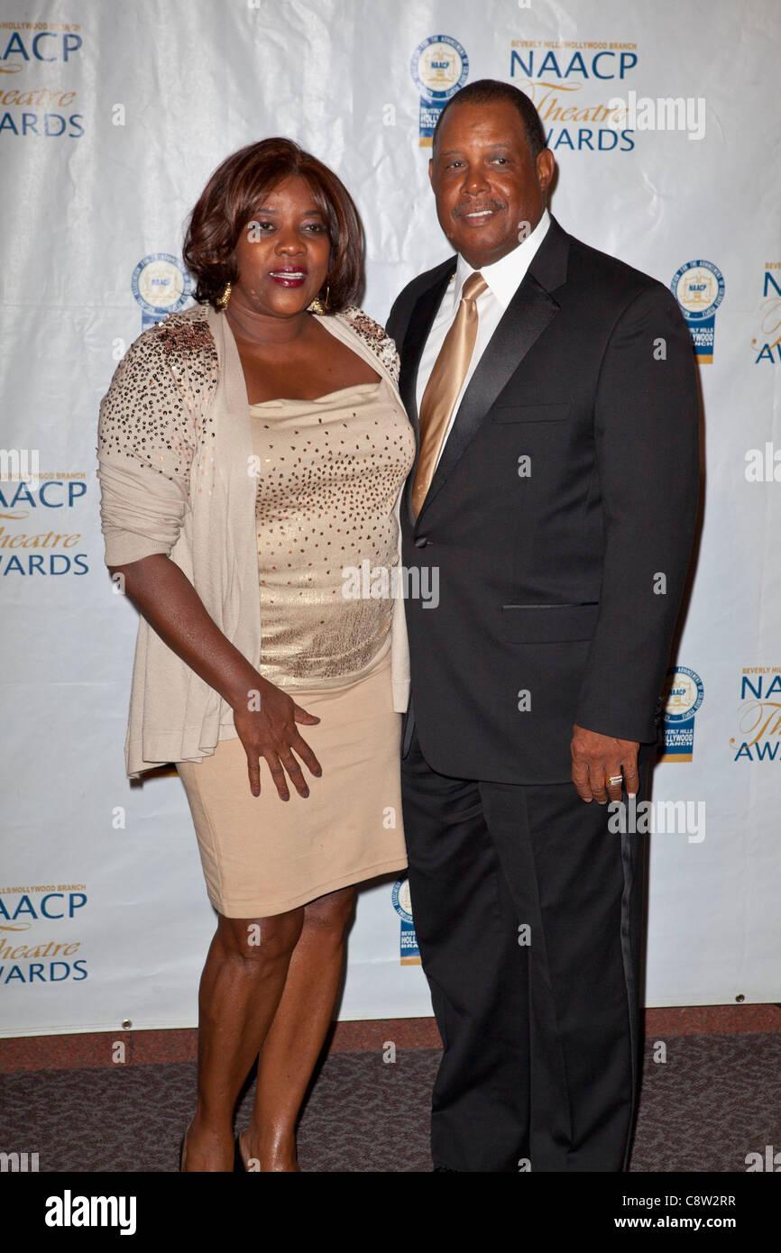 Loretta Devine at arrivals for 21st Annual NAACP Theatre Awards - ARRIVALS, Directors Guild of America (DGA) Theater, - Stock Image