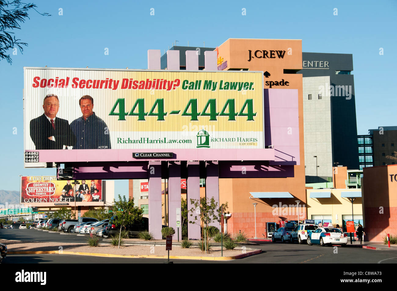 Social Security Disability Lawyer Las Vegas Premium Outlets United States - Stock Image