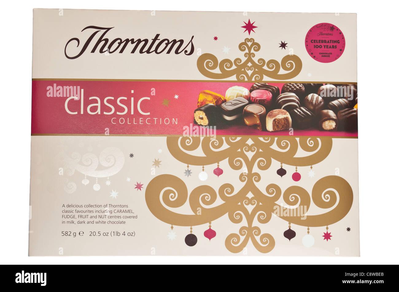 Box Of Thorntons Chocolates - Stock Image