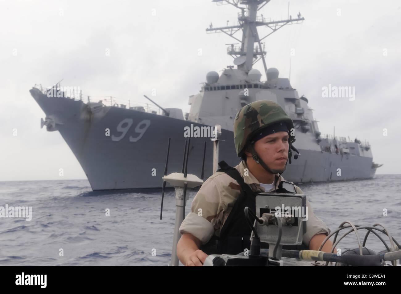 USS Farragut (DDG 99) - Stock Image