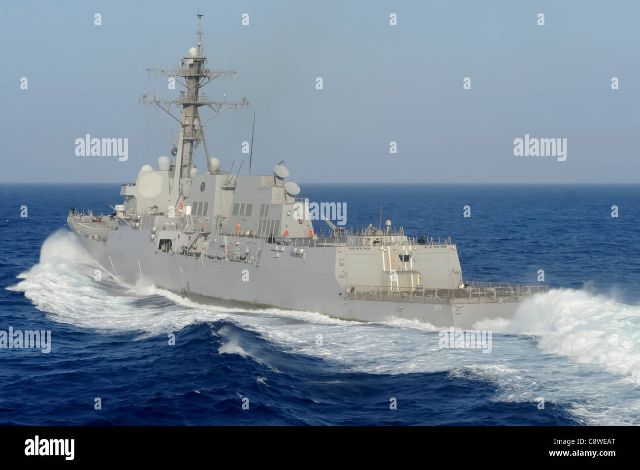 multi-national force established to conduct anti-piracy operations in the Gulf of Aden. - Stock Image