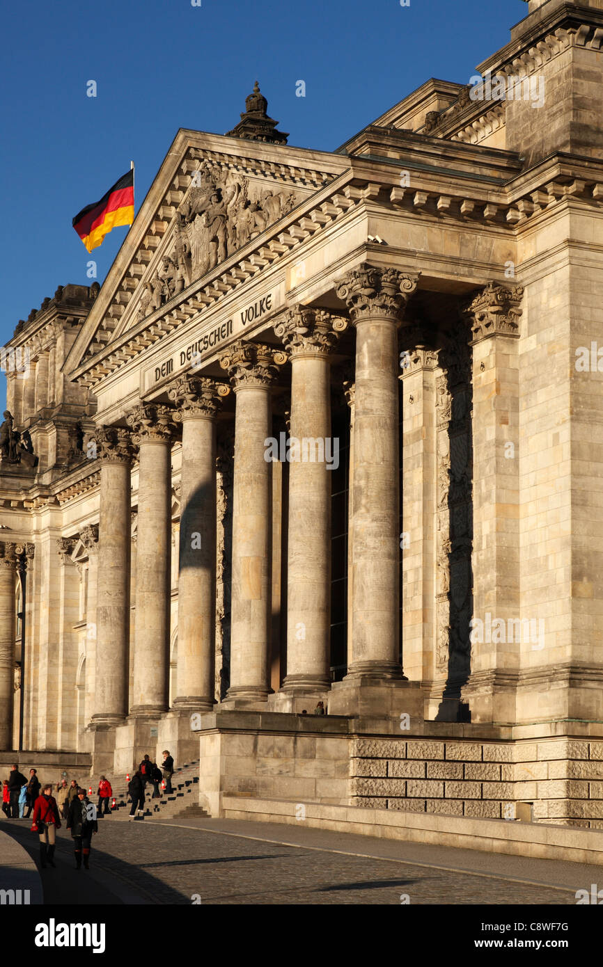 Reichstag - Stock Image