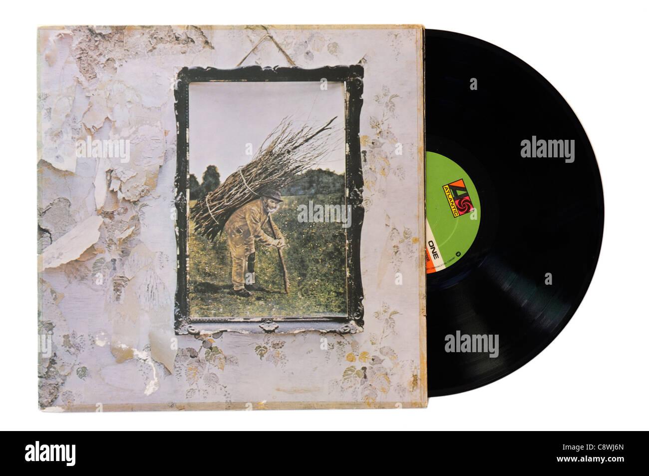 Led Zeppelin IV album - Stock Image
