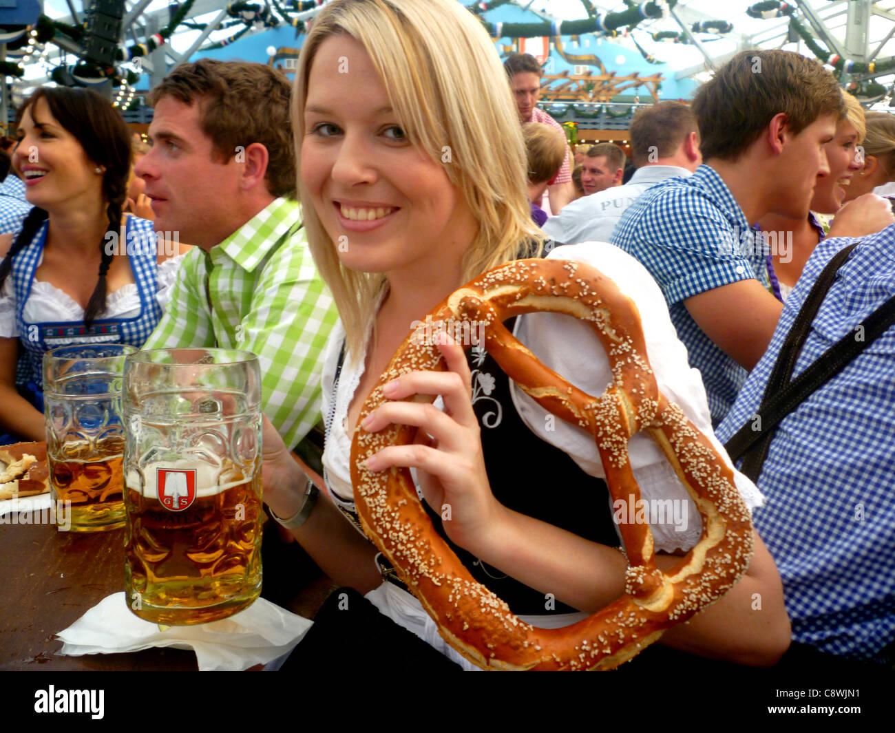beer stein pretzel stock photos beer stein pretzel stock images