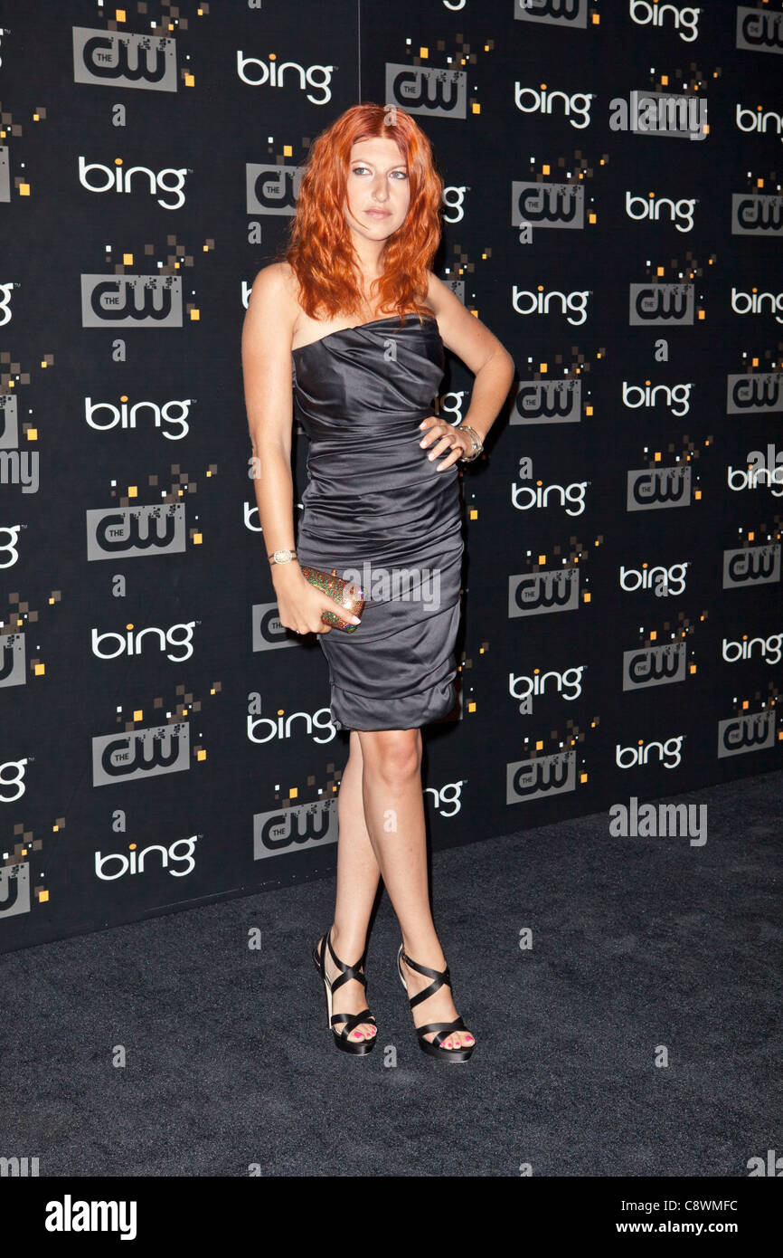 Tara Summers arrivals Bing PresentsCW Premiere Party Steven J Ross Theater Burbank CA September 10 2011 Photo Emiley - Stock Image