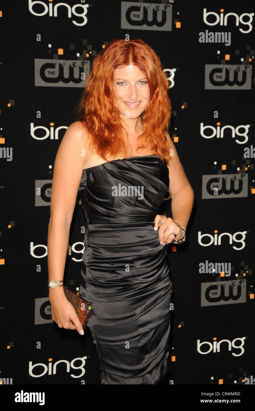 Tara Summers arrivals Bing PresentsCW Premiere Party Steven J Ross Theater Burbank CA September 10 2011 Photo Dee - Stock Image