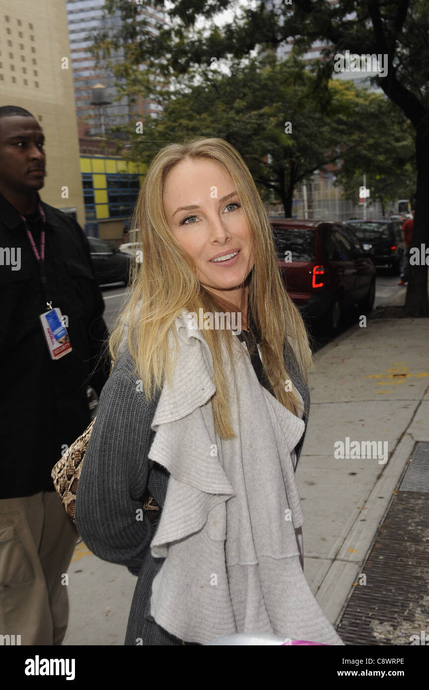 Chynna Phillips, enters the 'Wendy Williams Show' at AMV Studios out and about for CELEBRITY CANDIDS - THU, - Stock Image