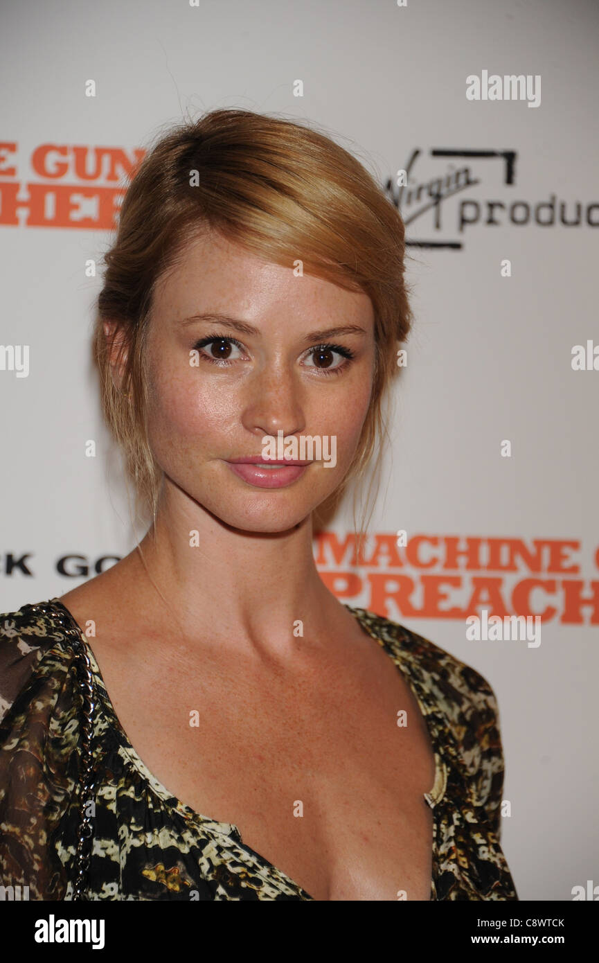 Chanel Farrell at arrivals for MACHINE GUN PREACHER Premiere, MoMA Museum of Modern Art, New York, NY September - Stock Image