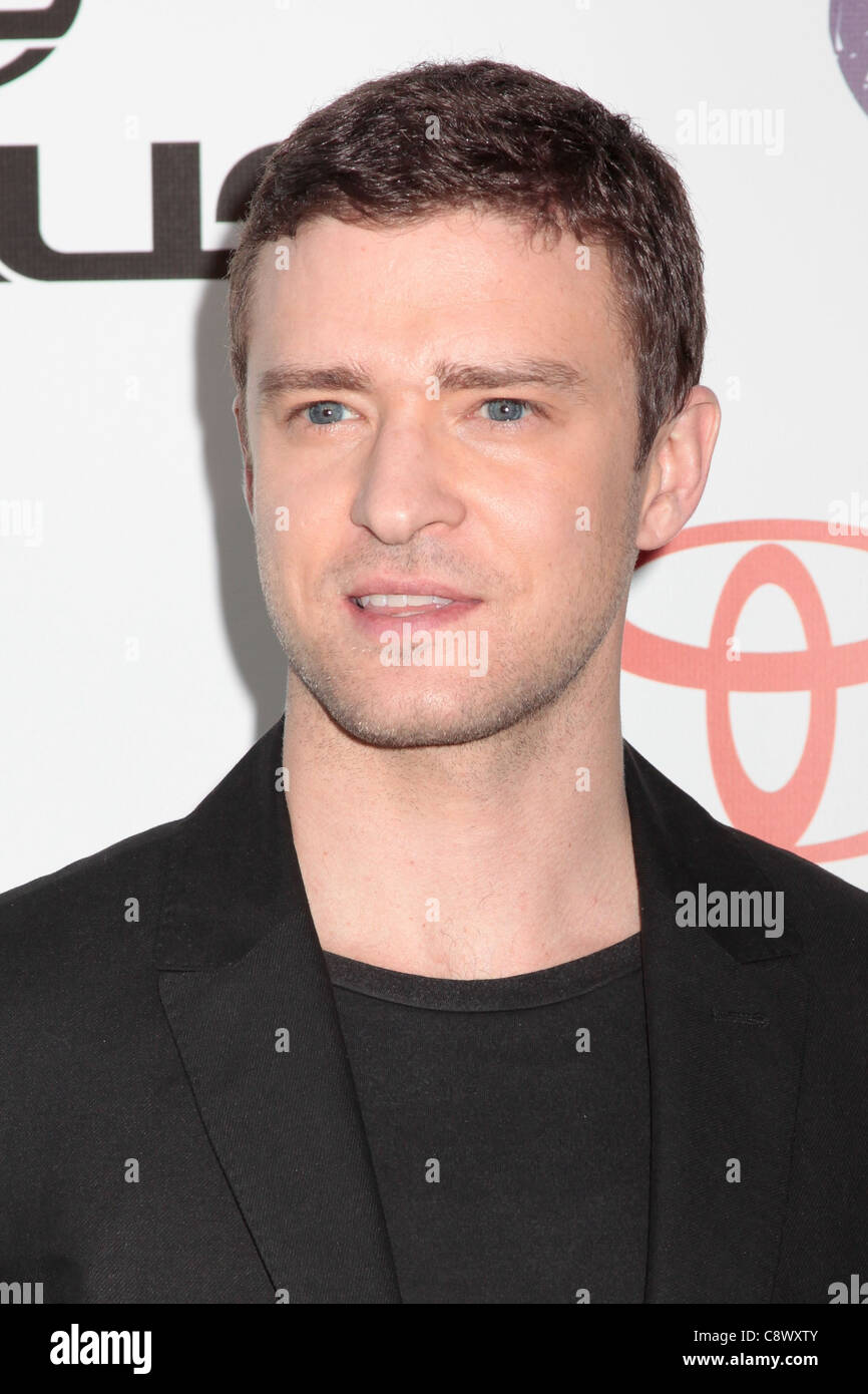 ddd78a7b9b1d0d Justin Timberlake at arrivals for 2011 Environmental Media Awards