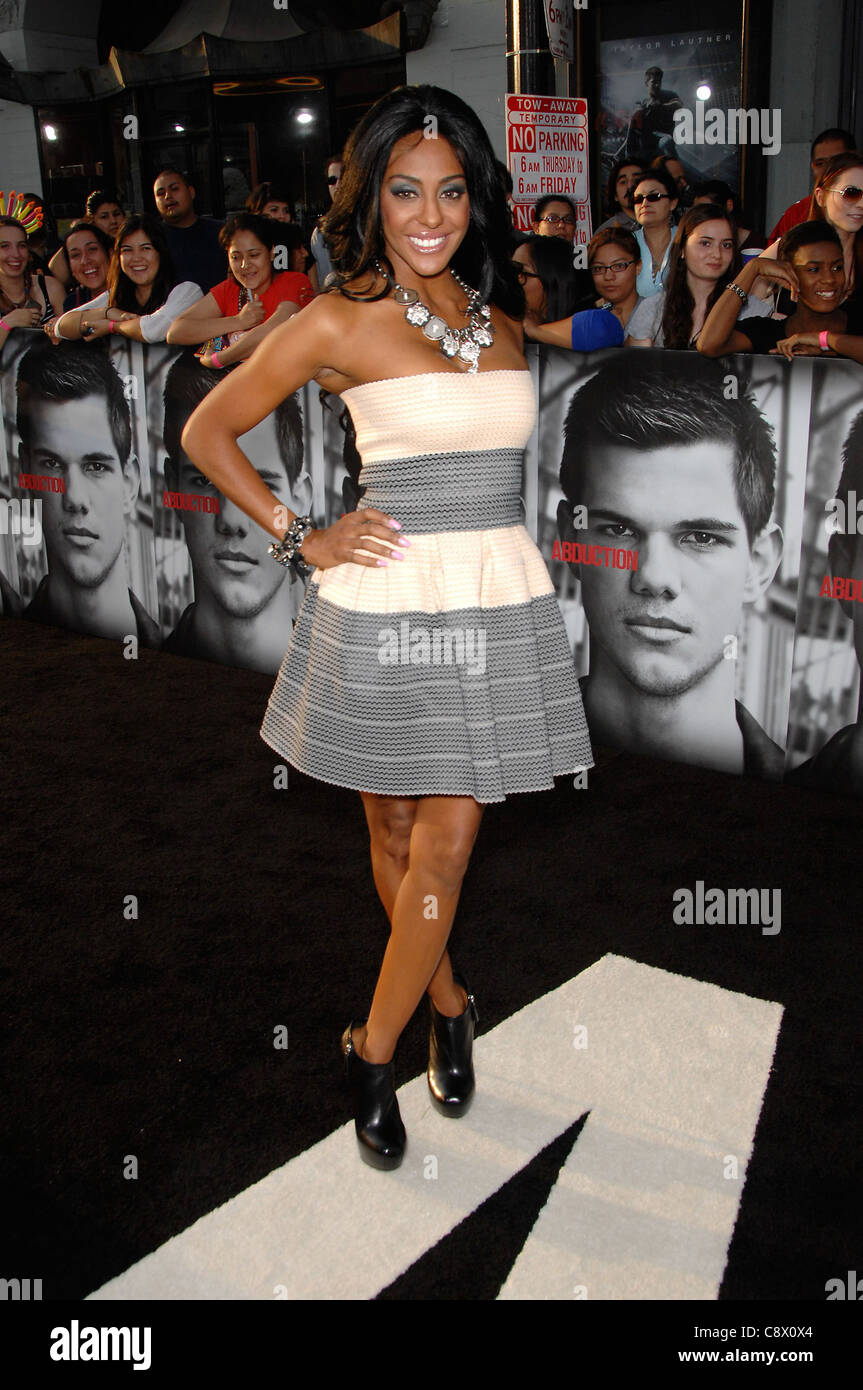 Shyra Sanchez at arrivals for ABDUCTION Premiere, Grauman's Chinese Theatre, Los Angeles, CA September 15, 2011. - Stock Image