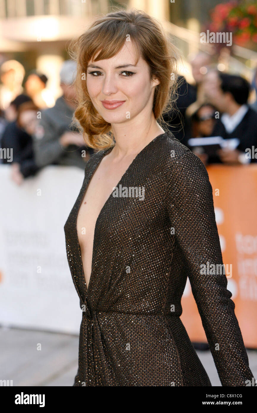 Louise Bourgoin at arrivals for A HAPPY EVENT Premiere at the Toronto  International Film Festival, Roy Thomson Hall, Toronto,