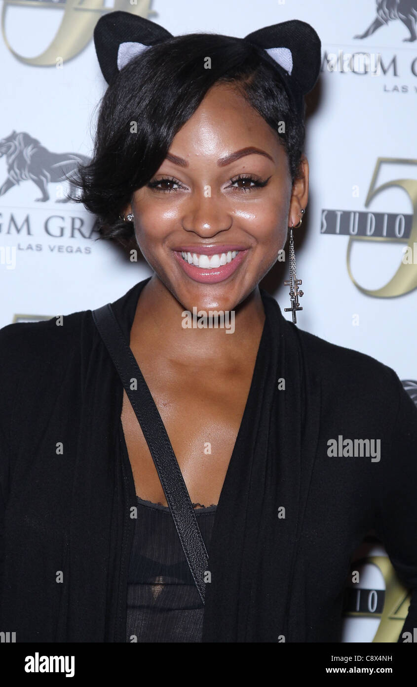 Meagan Good Arrivals Bam Margera 32nd Birthday Party Studio 54