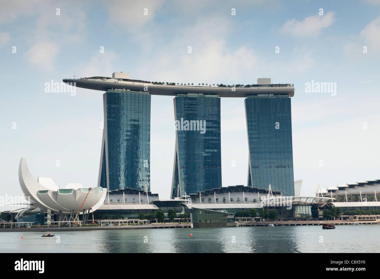 Marina Bay Sands Hotel, Singapore - Stock Image