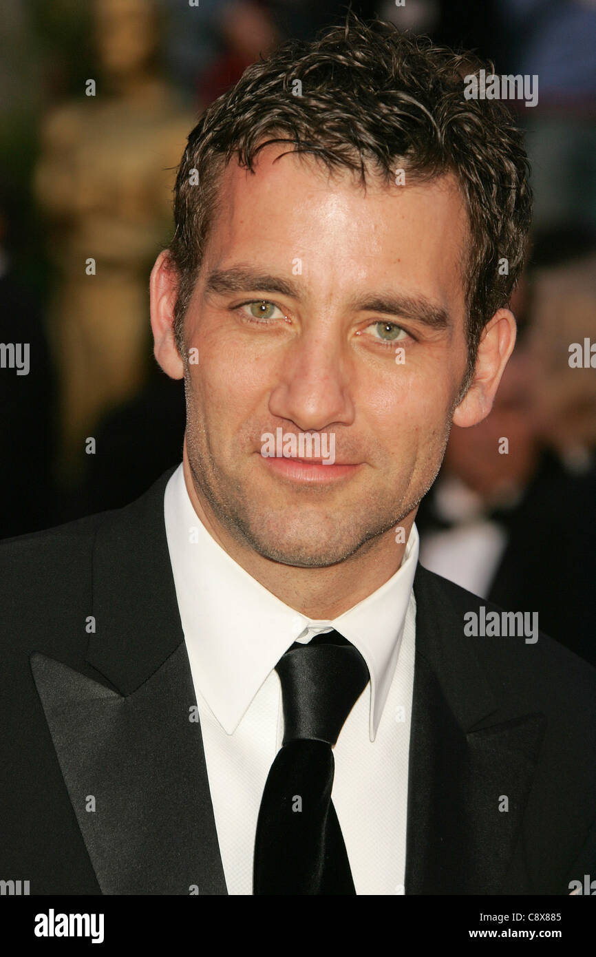 CLIVE OWEN   US film actor in 2008. Photo Jeffrey Mayer - Stock Image