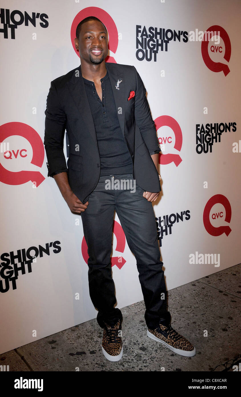 Dwyane Wade public appearance QVC''s Fashion''s Night Out