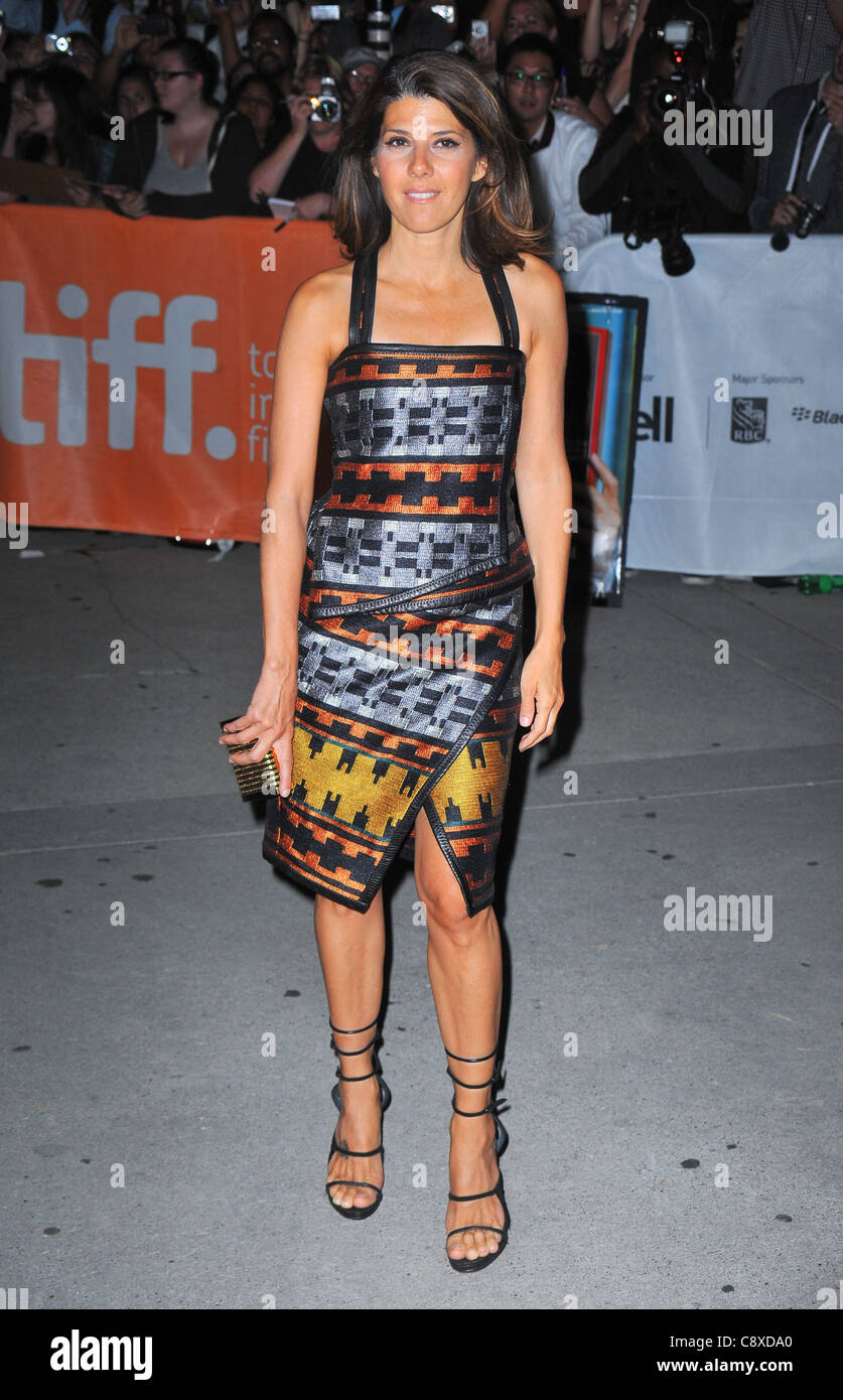 Marisa Tomei wearing Proenza Schouler dress arrivalsIDES MARCH Premiere atToronto International Film Festival Roy - Stock Image