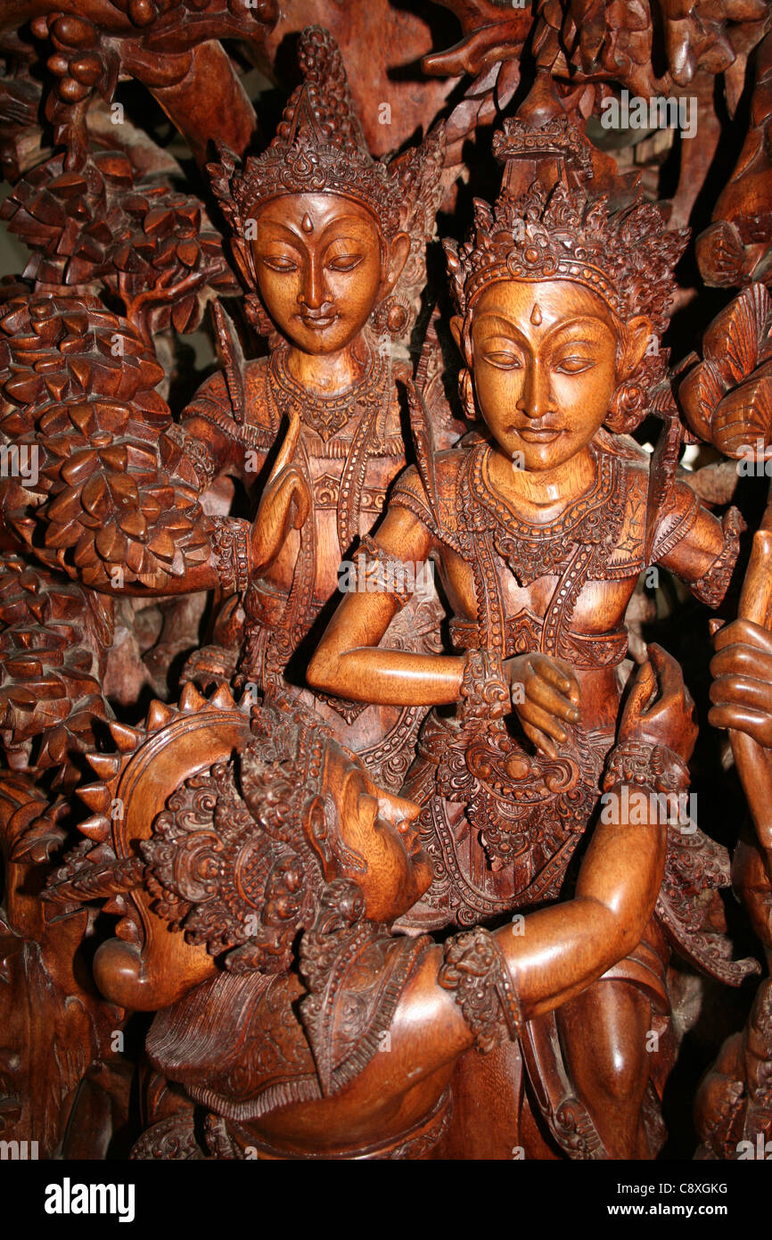 Wood carving carvings stock photos